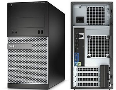 Dell OptiPlex 3020 MT, Intel Core i3-4160Т (3.10GHz, 3MB), 4