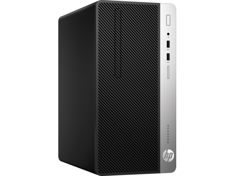 HP ProDesk 400 G5 МТ, Core i3-8100(3.6GHz/6MB/4C), 4GB 2666M