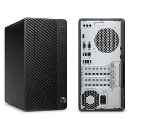 HP Desktop Pro A MT AMD Ryzen™ 2200G Quad-Core with Radeon™