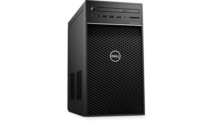Dell Precision 3630 Tower, Intel Xeon E-2124 (3.3GHz, 4 Core