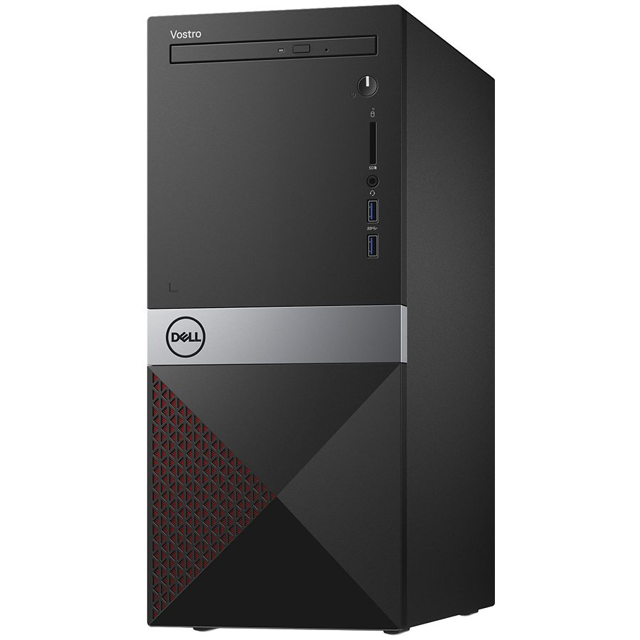 Dell Vostro Desktop 3670, Core i7-8700 (12MB Cache, up to 4.