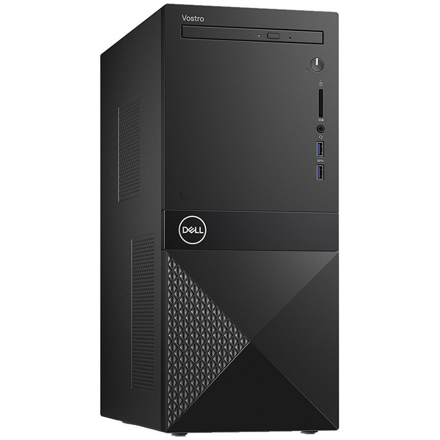 Dell Vostro Desktop 3670, Core i3-8100 (6MB, up to 3.6 GHz),
